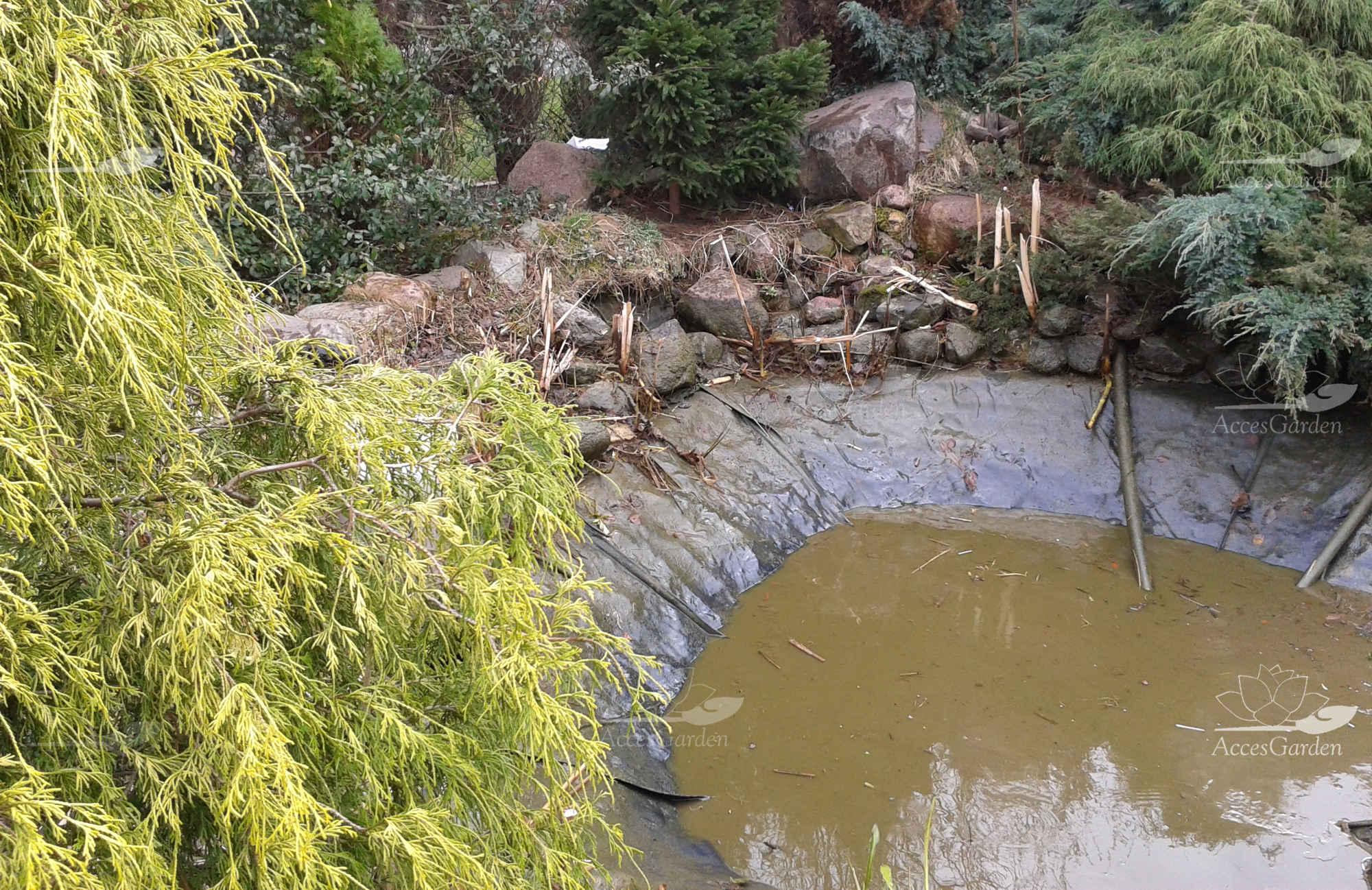 Topnotch czyszczenie-oczka-wodnego-poznan-brudne – Jak budować Oczko wodne QW37
